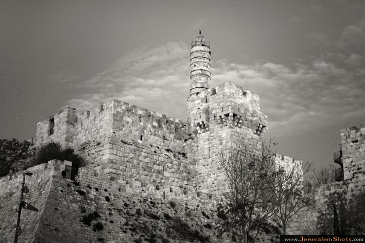 Black and White, The Tower of David