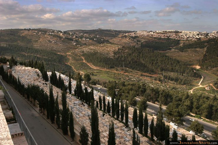 View on Jerusalem from Givat Shaul