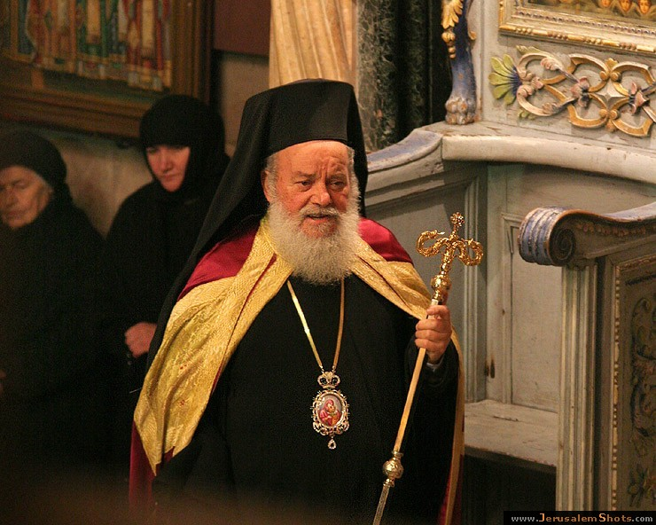 Greek Orthodox hierarch-Church of the Holy Sepulcher