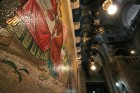 Mosaic over Anointing Stone - Holy Sepulcher