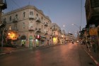 Jaffa street at night