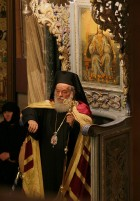 Greek Orthodox bishop-Church of the Holy Sepulcher